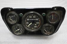 JDM MITSUBISHI MONTERO OLD SCHOOL GAUGE CLUSTER TEMP SPEED OIL FUEL