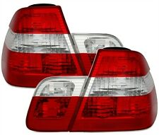CLEAR REAR TAIL LIGHTS LAMPS FOR BMW E46 3 SERIES PREFACELIFT SALOON 98-08/01 3