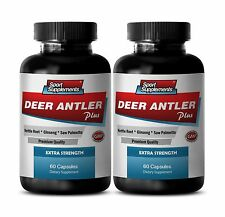Nettle Leaf Extract - Deer Antler Extract Plus 550mg - Male Enlargement Pills 2B
