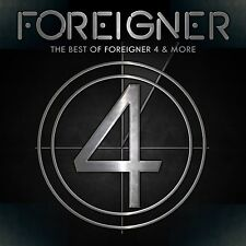FOREIGNER - THE BEST OF 4 AND MORE  CD NEU