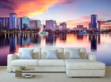 Orlando, Florida Skyline 3D Mural Photo Wallpaper Decor Large Paper Wall