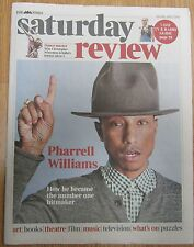 Pharrell Williams – Times Saturday Review – 5 April 2014