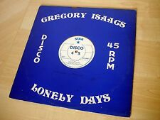 "Gregory Isaacs / U Roy Lonely Days ♫LISTEN♫ UK 12"" Star PTP 1002 1978 EX"