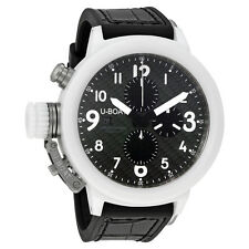 U-Boat Flightdeck 50 Automatic Carbon Fiber  Dial Mens Watch 7095