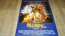 RETOUR VERS LE FUTUR 3 Back to the Future !  affiche cinema rare cars delorean