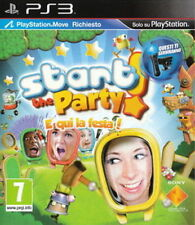 Start the Party! E' Qui la Festa! Ps3 Perfetta 1A Stampa Italiana Con Manuale