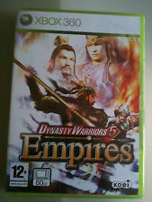 DYNASTY WARRIORS 5 EMPIRES  XBOX 360 SIGILLATO UFF ITA