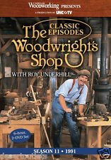 NEW! The Woodwright's Shop with Roy Underhill Season 11 [DVD]