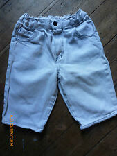 White Denim Shorts Vintage  1990s Girls Shorts. Mothercare. Excellent Condition.