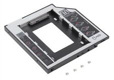 "Adaptateur rack Caddy 9,5mm Disque HDD/SSD SATA 2,5"" pour CD/DVD Portable/Laptop"