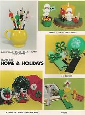 Craft Projects for 4H Bible School and More - Books:Crafts for Home & Holidays