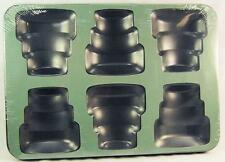 Mini Tiers Cake Pan 6 Cavity Non-Stick Cake Pan #44920 - NEW