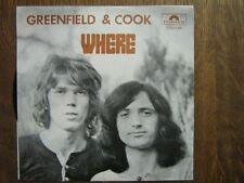 GREENFIELD & COOK 45 TOURS BELGIQUE WHERE
