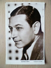 Real Photo Postcard- GEORGE RAFT, Paramount Pictures