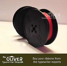 Facit Typewriter Ribbon and Spool - Black and Red