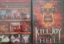 KILLJOY 1-2-3-4: Demonic Toys 1-2-3+ Gingerdead Man 1-2-3 (10 Films) NEW DVD's