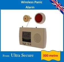 Wireless Panic Alarm (300 metre wireless operating range)