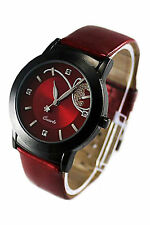 Fashion Women's Analog Quartz Wrist Watches Red LW