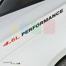 4.6L PERFORMANCE Decal sticker for Lexus LS GX GS 460 Toyota Tundra light head