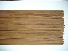 40 Holzleisten Teak    1000 x 6 x 0,6 mm