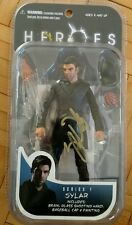 MEZCO TOYZ HEROES SYLAR ACTION FIGURE SIGNED ZACHARY QUINTO Autograph Star Trek
