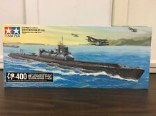 Tamiya 78019 1/350 Japanese Navy Submarine I-400 Model Kit From Japan