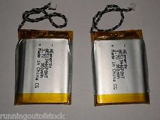 LiPo Battery 900 mAh 3.7 volt Rechargeable Lithium polymer battery 2 pcs
