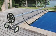 Kokido Stainless Steel Compact In Ground Pool Cover Reel Set (Up to 21.1')