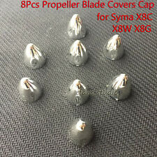 8pcs Propeller Blade Silver Covers for Syma X8C/W/G X8HC X8HW X8HG RC Quadcopter