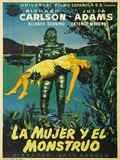 Creature From The Black Lagoon 24x32 inch Vintage Movie Poster Spain style PZ041