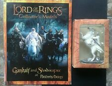 LOTR Collectors Models Special Edition Gandalf & Shadowfax Boxed with Mag RARE