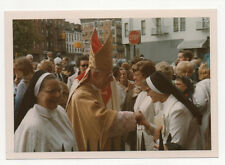 Roman Catholic Bishop of Brooklyn w Mitre on + Nuns Bishop Francis John Mugavero