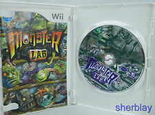 Monster Lab - Nintendo  Wii Game Complete Scratched Works