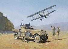 Rolls Royce Armoured Car Hawker Hart Army Air Force Fathers Day Birthday Card