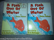 A FISH OUT OF WATER 1961 Childrens Book DR. SUESS 1st Edition VINTAGE Beginner