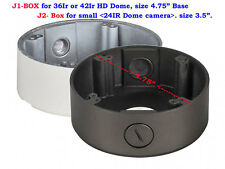 New  Junction Box mounting base Bracket for CCTV  36IR Dome Camera  Accessories