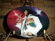 Remembering Elvis Presley THE VISION Bradford Exchange Plate