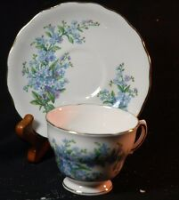 Royal Vale Forget-me- not Cup and Saucer