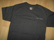 United Airlines Tee - UAL Old Tulip Logo Embroidered Airline Airplane T Shirt Sm