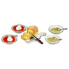 Reutter Porzellan Boulettes & Soupe Aux Tomates & Maison De Poupée 1:12