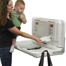 Commercial Horizontal Baby Changing Station Table Rest Room Day Care Clinic Area