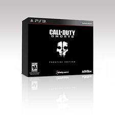 Call of Duty Ghosts Prestige Edition PS3 NEW