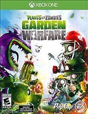 Plants vs. Zombies: Garden Warfare (Microsoft Xbox One, 2014) Used w/case