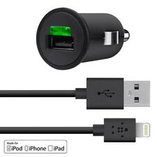 Belkin Car Charger with Lightning Cable for Apple iPhone 5/5s