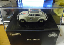 HOT WHEELS ELITE, 100% HERBIE THE LOVE BUG, 1/43 SCALE BCK07 2014