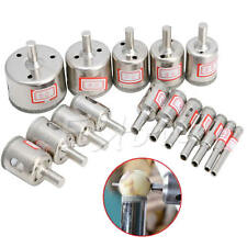 Hot 15pc 6mm-50mm Diamond Hole Saw Marble Drill Bit Tile Ceramic Glass Porcelain