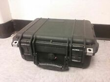 Pelican 1400 Small Protective Case Used for Camera Equipment with foam inserts.