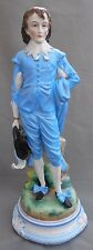 Ernst Bohne Sohne Porcelain Figure The Blue Boy Thomas Gainsborough Height 35cm