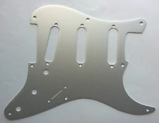 Stratocaster Brushed Aluminium Pickguard for US SSS Strat