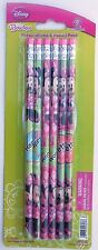 Party Favors DISNEY MINNIE MOUSE Pencils Birthday Loot Bag Filler 6 Pack